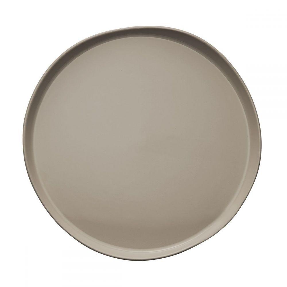 Тарелка обеденная Д 26 см., серый BRUME, DEGRENNE, арт. 241271