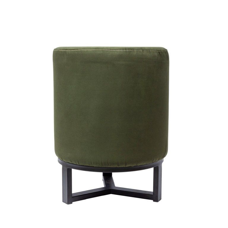 FLYNN STOOL ON IRON STAND WITH CHALLENGER FABRIC, АРТИКУЛ F4-T60/CH162, DOME DECO