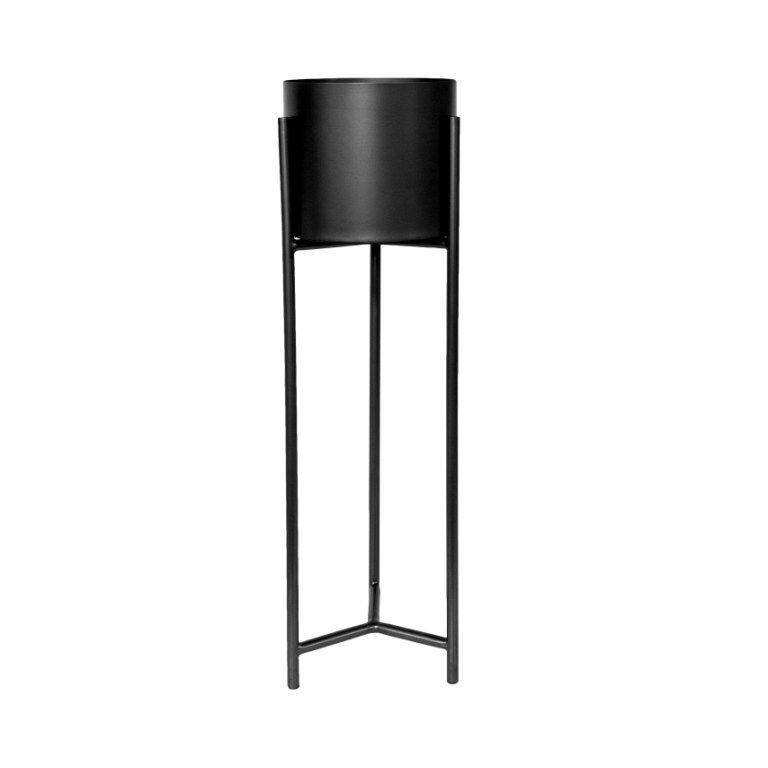 VASE PLANTER WITH STAND L, АРТИКУЛ V3-S6/BLA, DOME DECO