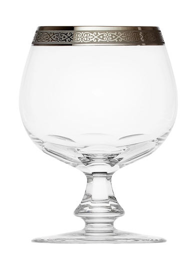 Moser бокал для бренди и коньяка Lady Hamilton 590 мл., платина
